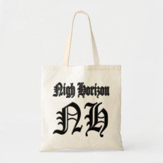 Nigh Horizon Budget Tote Canvas Bag