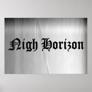 Nigh Horizon Logo Poster Print