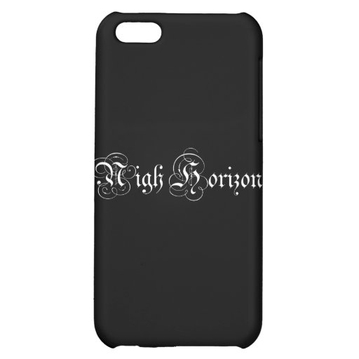 Nigh Horizon Parchment Logo Case for iPhone 4