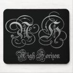 Nigh Horizon Parchment Logo Mousepad