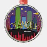 Nighlife del horizonte de Los Ángeles Adorno De Reyes