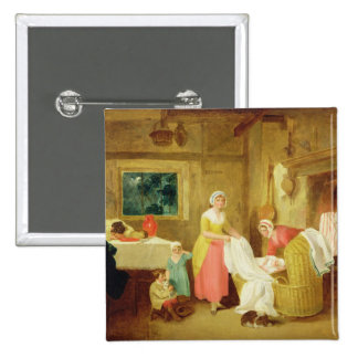 Night, 1799 (oil on canvas) (see 127218-220) pinback button