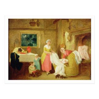 Night, 1799 (oil on canvas) (see 127218-220) postcard