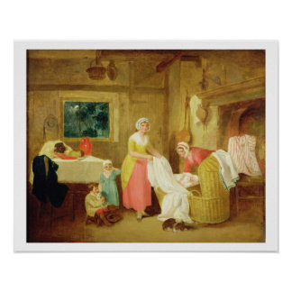 Night, 1799 (oil on canvas) (see 127218-220) poster