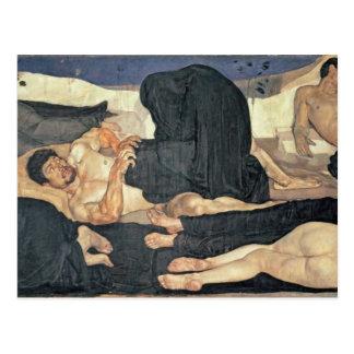 Night, 1890 (oil on canvas) postcard