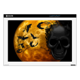 """night-9951-scarry 17"""" laptop decal"""