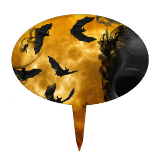 night-9951-scarry cake topper