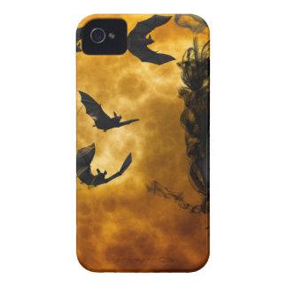 night-9951-scarry Case-Mate iPhone 4 coberturas