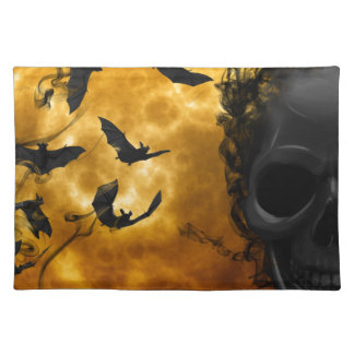 night-9951-scarry cloth placemat