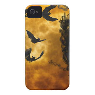 night-9951-scarry iPhone 4 cases