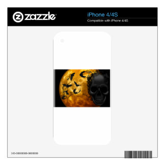 night-9951-scarry iPhone 4S decals