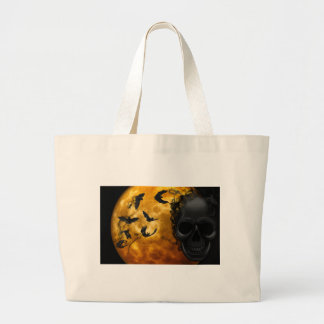 night-9951-scarry large tote bag