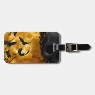 night-9951-scarry luggage tag