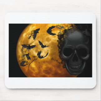 night-9951-scarry mouse pad