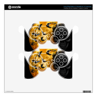 night-9951-scarry skins for PS3 controllers