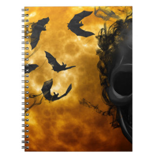 night-9951-scarry spiral notebook
