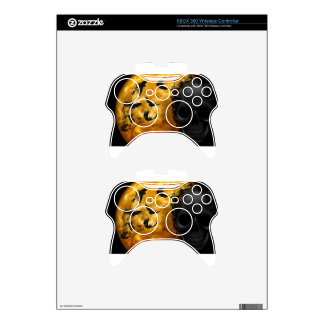 night-9951-scarry xbox 360 controller skins