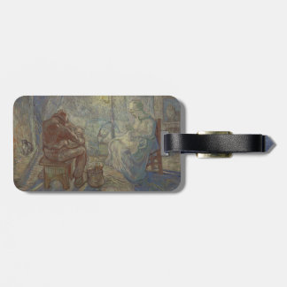 Night after Millet by Vincent Van Gogh Tag For Luggage