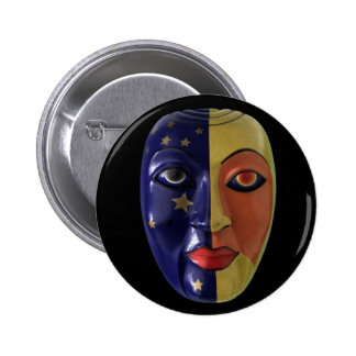 NIGHT AND DAY 2 INCH ROUND BUTTON