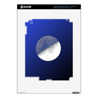 Night and Day Moon Shot Decal For iPad 3