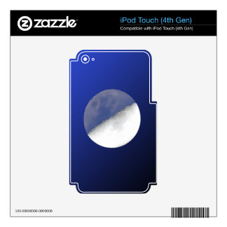 Night and Day Moon Shot iPod Touch 4G Skin