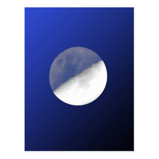Night and Day Moon Shot Postcard