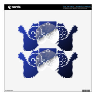 Night and Day Moon Shot PS3 Controller Skin