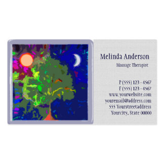 Night and Day Tree of Life Double-Sided Standard Business Cards (Pack Of 100)
