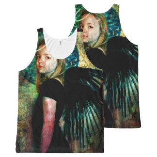 Night Angel All-Over Print Tank Top