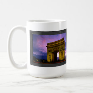 Night at  Arc de Triomphe Paris France Coffee Mug