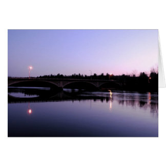 Night at Chambers Grove Stationery Note Card