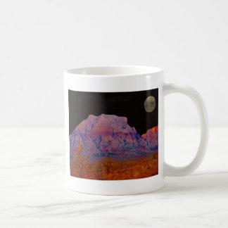Night at Redrock Canyon Coffee Mug
