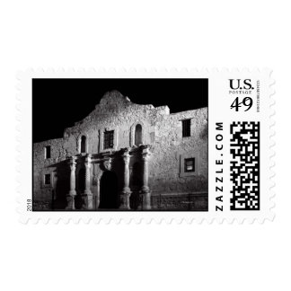 Night at the Alamo Postage Stamp