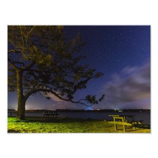 Night at the Causeway Photographic Print