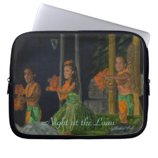 Night at the Luau Electronics Sleeve Laptop Computer Sleeve