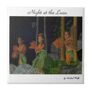 Night at the Luau Tile