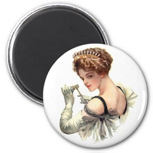 Night at the Opera 2 Inch Round Magnet