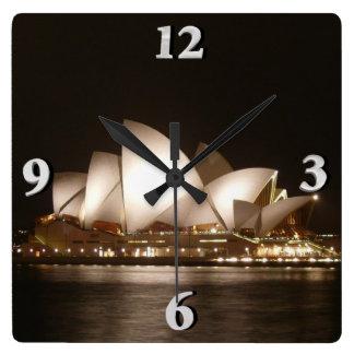 Night at the Opera Square Wall Clock