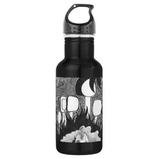 Night At The Pond Water Bottle