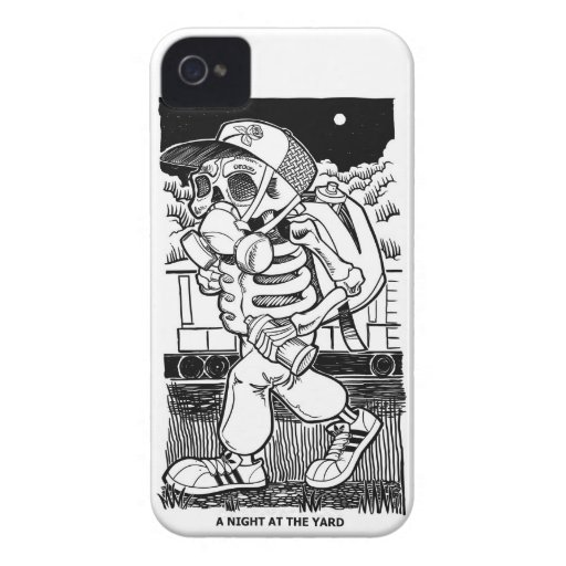 Night at the yard iphone 4 case