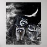 Night Bandits Art Poster/Print