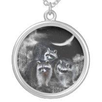 Night Bandits Wearable Art Necklace