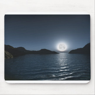 Night bay mouse pad
