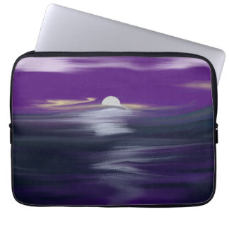 Night Beach Neoprene 13 inch Laptop Sleeve