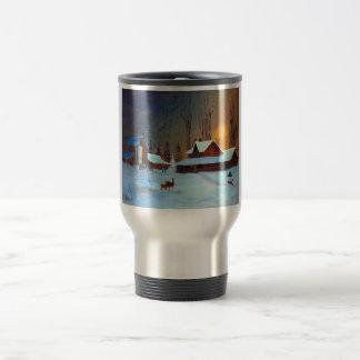 Night Before Christmas2 15 Oz Stainless Steel Travel Mug