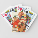 Night before Christmas Bicycle Playing Cards