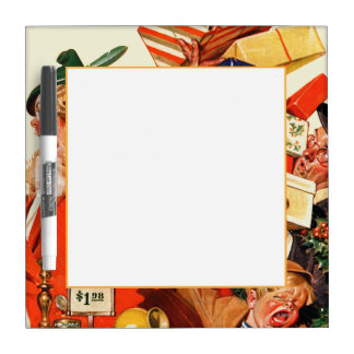 Night before Christmas Dry Erase Board