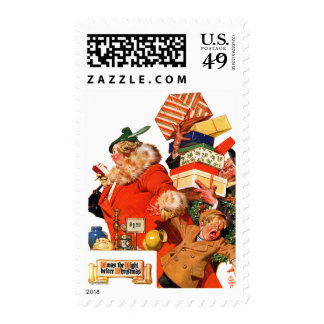 Night before Christmas Stamps
