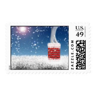 Night Before Christmas Postage Stamp