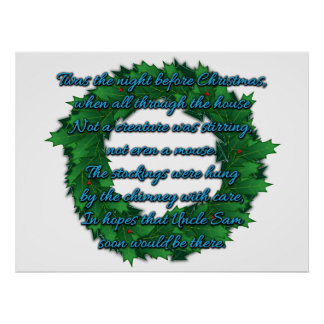 Printable Words To Twas The Night Before Christmas New Calendar Template Site